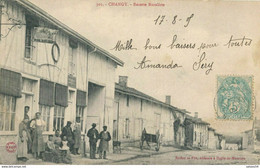 52) CHANGY : Recette Buraliste (animée) (1905) - Sonstige Gemeinden