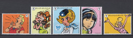 2021 Straffe Stripdames Postfris** N202101 - Neufs