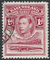 Basutoland. 1938 KGVI. 1d Used SG19 - 1933-1964 Crown Colony