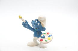 Smurfs Nr 20045#7 - *** - Stroumph - Smurf - Schleich - Peyo - Art - Painting - I Puffi