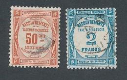 ED-169: FRANCE: Lot Avec Taxe N°47-51 Obl - 1859-1955 Oblitérés