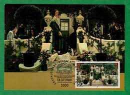 BRD 1989  Mi.Nr. 1430 , 100 Jahre Künstlerdorf  Worpswede - Maximum Card - Erstausgabe Bonn 13.07.1989 - Maximumkarten (MC)