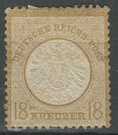 Deutsches Reich 1872 -18 Kr. ☀ 150,- MiNr 28 I Großer Schild ☀ Ungebraucht - Ungebraucht