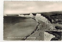 Birling Gap And The Seven Sisters (viaggiata Per La Francia, 1955) - Eastbourne