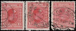 Yougoslavie 1926 ~ YT 172. Par 3 - 1 D. Alexandre 1er - Usati