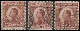 Yougoslavie 1924 ~ YT 163 (par 3)  - 1 D.. Alexandre 1er - Usati