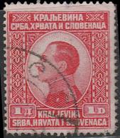 Yougoslavie 1924 ~ YT 160  - 1 D.. Alexandre 1er - Usati