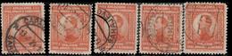 Yougoslavie 1923 ~ YT 154 Lot De 5  - 30 D. Alexandre 1er - Usati