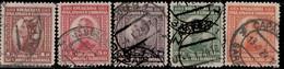 Yougoslavie 1923 ~ YT 150 à 154  - Alexandre 1er (série) - Usati