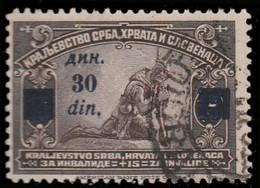 Yougoslavie 1922. ~ YT 149 - 30/15 Profit Des Blessés De Guerre - Usati