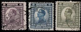 Yougoslavie 1921. ~ YT 132/39 - Prince Régent Alexandre. Roir Pierre 1er - Usati