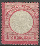 Deutsches Reich 1872 -1 Gr. ☀ Großer Schild ☀ Ungebraucht Ohne Gummi - Ungebraucht