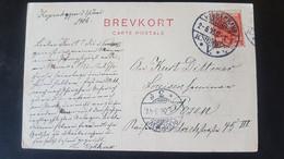 Kobenhavn - Sent To Posen Poznan - Gebraucht