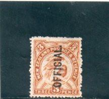 NOUVELLE ZELANDE 1910-6 SANS GOMME - Officials