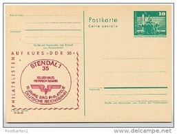 DDR P79-24b-78 C73-c Postkarte PRIVATER ZUDRUCK Reichsbahn Stendal 1978 - Privatpostkarten - Ungebraucht