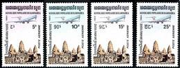 Cambodge Cambodia Kampuchea 1984 Iliouchine 62 Angkor Vat (YT PA 32 , Mi 546, St Gibbons 504) - Airplanes