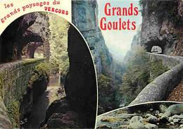 26 - Drome - Vercors - Le Défilé Des Grands Goulets - Multivues - CPM - Voir Scans Recto-Verso - Les Grands Goulets