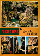 26 - Drome - Vercors - Les Grands Goulets - Multivues - Flamme Postale De Pont En Royans - CPM - Voir Scans Recto-Verso - Les Grands Goulets