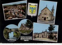 48 AUMONT AUBRAC , Blason - Aumont Aubrac