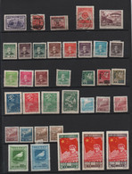 CHINE -1947 A 1950  - Lot De 53 Timbres , Oblitérés, Et Neufs + -( Quelques Timbres Avec Defauts De  Dentelure) Lot Ex3 - Zonder Classificatie