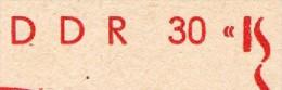 DDR P79-24var-78 C73-b Postkarte ZUDRUCK DRUCKFEHLER Reichsbahn Stendal 1978 - Privatpostkarten - Ungebraucht