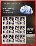 USA 1994 PRIMO UOMO SULLA LUNA - Blocks & Sheetlets
