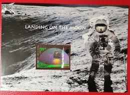 USA 2000 PRIMI PASSI SULLA LUNA - Blocks & Sheetlets