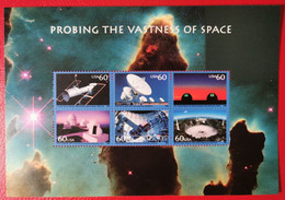 USA 2000 SPAZIO - TELESCOPI - Blocks & Sheetlets