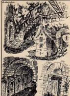 48 STE ENIMIE Hermitage Et Refectoire Du Monastere, Illustrateur - Aumont Aubrac