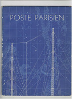 LE POSTE PARISIEN 1936 COMPAGNIE GENERALE D ENERGIE RADIO ELECTRIQUE PRESENTATION ILLUSTREE IMPRIMEUR DRAEGER - Libri & Schemi