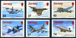 Jersey 2007 Air Display Dornier 24, Avro Vulcan, Ju-52, Su-27, Concorde, B-52  (Michel 1304, St Gibbons 1326) - Airplanes