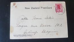 Routburn - Harris Falls - Sent To Antwerpen Belgium - Used Stamps