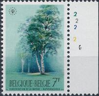 [** SUP] N° 1527, 3F Bouleau - La Rarissime Planche '4' - Sin Clasificación
