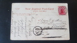 Wanganui River - Used In West Ealing - Sent To Wincanton Somerset England - Cancellation Bath - Used Stamps