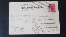 Gisborne - Te Reinga Falls - Used In Gisborne - Sent To London - Used Stamps