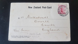 Halls Arm - Smith Sound - Used In Alexandra South - Sent To Orwell England - Used Stamps