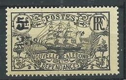 Nouvelle-Calédonie YT N°129 Frégate Surchargé Neuf ** - Neufs