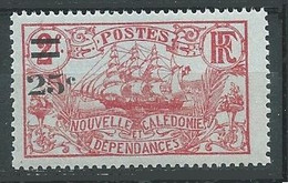 Nouvelle-Calédonie YT N°128 Frégate Surchargé Neuf ** - Neufs