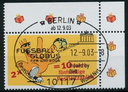 BRD 2003 Nr 2344 ESST Zentrisch Gestempelt ECKE-ORE X93619E - Gebraucht