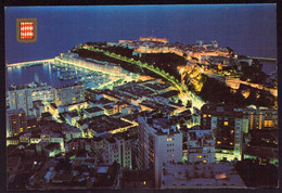 AK 002160 MONACO - Le Port Et Le Rocher De Nuit - Harbor