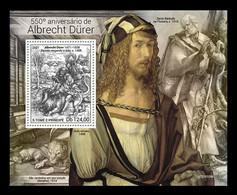 Sao Tome And Principe 2021 Mih. 9817 (Bl.1779) Paintings Of Albrecht Dürer MNH ** - Sao Tome Et Principe