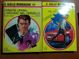 2 Vol. Il Giallo Mondadori - AA.VV. - Mondadori - 1973   - M - Gialli, Polizieschi E Thriller