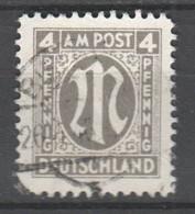 AM Post , Nr 18 B Gestempelt , Geprüft Hettler ( 75.-) - Zone AAS
