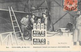 A/474          78     Buc  -paris-rome 28 Mai 1911-déperdussin Remplit Con Réservoir D'AUTOMOBILINE - Buc