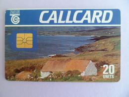 Telecarte  - IRLANDE - 20 Unists Callcard - Ireland