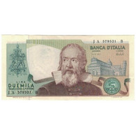Billet, Italie, 2000 Lire, 1973, 1973-10-08, KM:103a, SUP - 2000 Lire