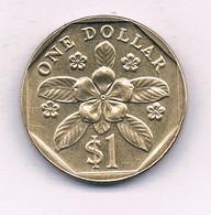 1 DOLLAR 1995 SINGAPORE /7665/ - Singapore