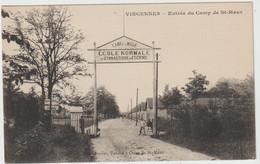 Joinville Le Pont (94 - Val De Marne) Entrée Du Camp De St Maur. Ecole Normale De Gymnastique Et D'Escrime - Joinville Le Pont
