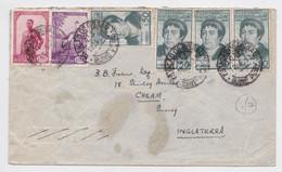 Lettre Timbre Guinée Portugaise Guine Portuguesa Correo Stamp Air Mail Cover 1952 - Guinée Portugaise