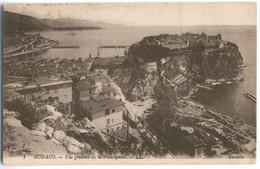A207d Monaco, Vue Generale De La Principaute, 1921 - Harbor